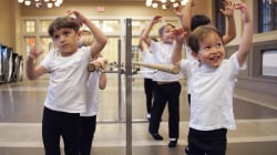 All-boys ballet gives little dudes a place to dance