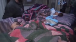 Babies rescued from Syrian hospital after Russian airstrike