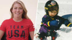Gold medalist Mikaela Shiffrin gives advice to her younger self
