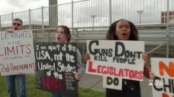 Students seize control of gun debate, plan walkouts and march