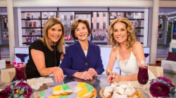 Laura Bush visits daughter Jenna and Kathie Lee on TODAY