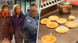 TODAY anchors visit a Korean food market (and eat pancakes!)