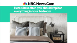 How often should you replace your mattress? TODAY anchors say…