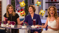 Former first lady Barbara Bush reveals her favorite emojis