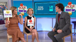 Kathie Lee Gifford and Jenna Bush Hager play 'Rude or Right On'