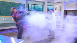 See Kathie Lee and Jenna do some wacky science experiments