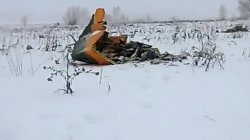 Russian airliner crashes, killing all 71 aboard