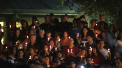 Florida school shooting: Thousands attend candlelight vigil for victims