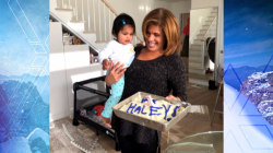 Hoda Kotb celebrates one year with Haley Joy