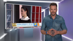 Joel McHale teases 'Donnadorable' with actor Jason Priestley