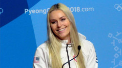 Lindsey Vonn looks for a valentine (and gets plenty of responses)