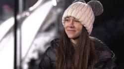 Olympian Sarah Hendrickson: 'It's so peaceful' during ski jump flights