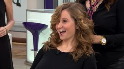 Celebrity stylist Sally Hershberger styles winter weather hair