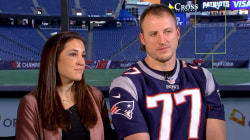 At the Super Bowl, Patriots' Nate Solder will have family on his mind