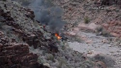 Grand Canyon helicopter crash: 3 killed, 4 injured