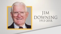 Life well lived: Navy Lt. Jim Downing dies at 104