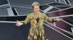 Best actress McDormand leads women's standing ovation, calls for inclusion riders