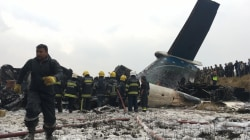 Dozens feared dead as plane crashes, bursts into flames on landing in Nepal