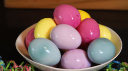 These rainbow pickled Easter eggs are pure kitchen magic