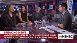 """Maya Wiley: """"Surprised"""" Stormy's lawyer revealed physical threat"""