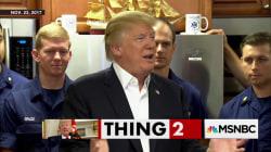 Donald Trump's invisible plane
