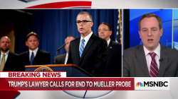 """Trump is not acting like an innocent man right now"" after McCabe is fired"