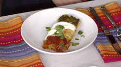 How to make delicious vegetarian enchiladas