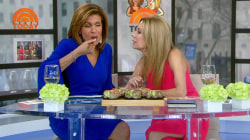 Watch Kathie Lee and Hoda try sushi doughnuts