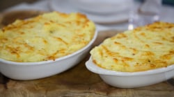 Make Padma Lakshmi's delicious shepherd's pie