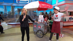 Megyn Kelly audience members receive Foods of New York Tours