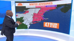 Third nor'easter in 2 weeks hammers East Coast