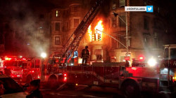 Firefighter dies in New York film set fire