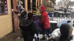 Hoda's Morning Boost: Police officers lose snowball fight with kids