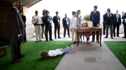Justin Trudeau's son steals the show in India