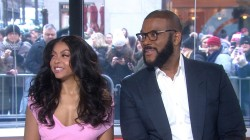 Tyler Perry, Taraji P. Henson dish on their new thriller 'Acrimony'