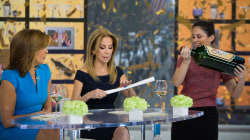 kathie lee and hoda are sending a lucky fitness relay klg hoda s teams compete today com