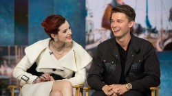 Patrick Schwarzenegger, Bella Thorne talk on-screen chemistry in 'Midnight Sun'
