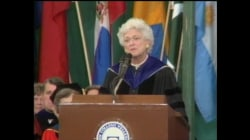 Barbara Bush delivers Wellesley College Commencement address (full speech)