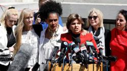 'We are not going away': Cosby accusers speak after guilty verdict