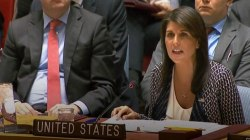 Haley to U.N.: 'The world must not passively accept the use of chemical weapons'