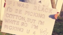 Florida high school investigating racist 'promposal'
