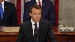 French Pres. Macron calls on U.S. to stay in Iran deal