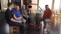 Craig Melvin visits a Kentucky distillery to learn from a bourbon legend