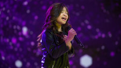 Watch 10-year-old 'AGT' runner-up Angelica Hale perform 'I'll Be There'