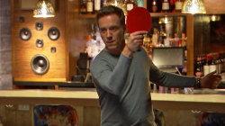 Watch Damian Lewis dominate Willie Geist at ping-pong