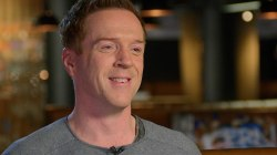 Damian Lewis was hungover when Steven Spielberg offered him 'Band of Brothers' role