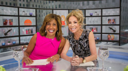 Hoda Kotb recalls her first day at NBC (and reveals her ID badge)