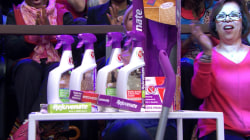 Megyn Kelly audience members receive cleaning products from Rejuvenate