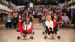 Watch trailblazing driver Danica Patrick and Megyn Kelly race (in go-karts)