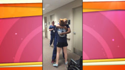Watch this patient surprise the nurse who cared for her
